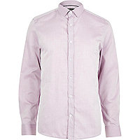 Light purple smart long sleeve shirt