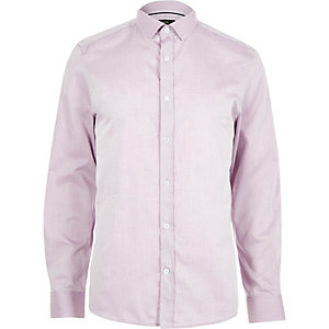 Light purple long sleeve formal shirt