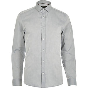 Light grey long sleeve formal shirt