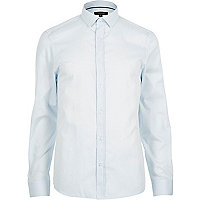 Light blue smart long sleeve shirt