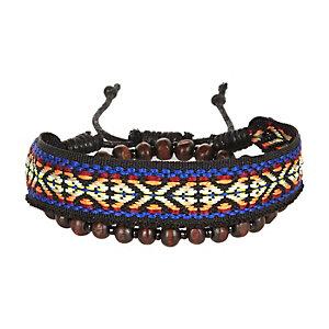 Red ethnic bracelet