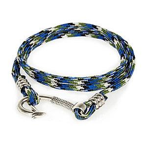 Blue nautical rope bracelet