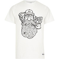 White Raregoods pipe dreams t-shirt