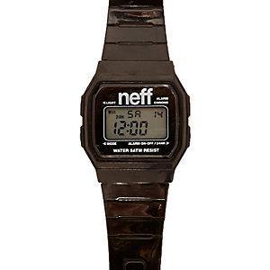 Black retro watch