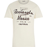 White Only & Sons Mexico print t-shirt