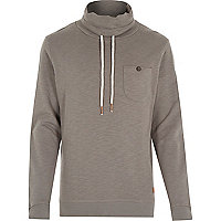 Ecru Only & Sons high neck jumper