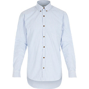 Navy stripe Only & Sons shirt