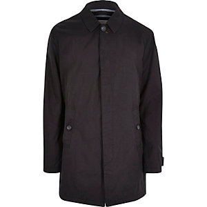 Navy Only & Sons trench coat