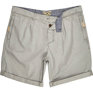 Grey Holloway Road smart shorts
