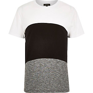 White block colour t-shirt