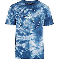 Grey Antioch tie dye print t-shirt