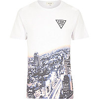 White Tokyo 1992 faded t-shirt