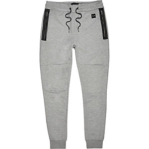 Light grey Only & Sons sporty joggers