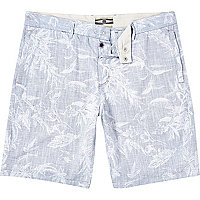 Grey Holloway Road botanical print shorts