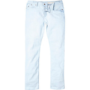 Light acid wash Holloway Road slim jeans
