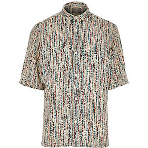 Brown Holloway Road crêpe shirt