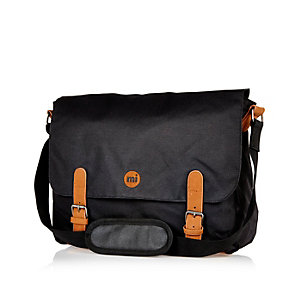 Black Mipac classic messenger bag