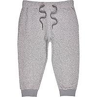Grey 3/4 length joggers