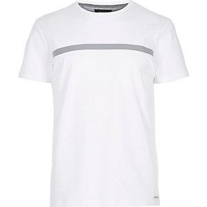 White block tape t-shirt