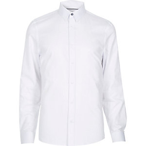 White point collar formal shirt