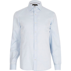 Light blue long sleeve formal shirt