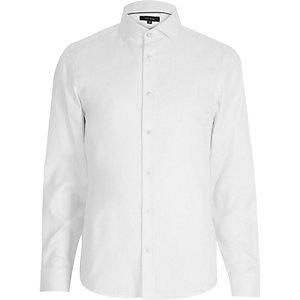 White long sleeve formal shirt