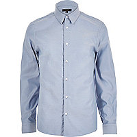 Blue long sleeve shirt