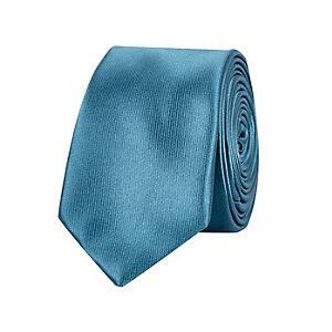 Teal green tie