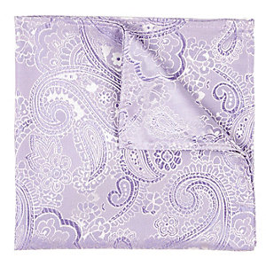 Purple jacquard pocket square