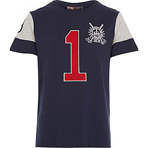 Navy Best In Field polo shirt