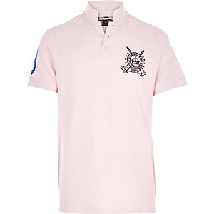 Pink Best In Field polo shirt
