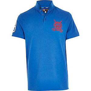 Blue Best In Field polo shirt