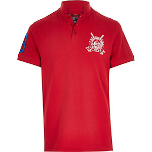 Red Best In Field polo shirt