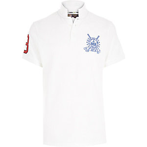 White Best In Field polo shirt