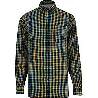 Green Jack & Jones Vintage check shirt