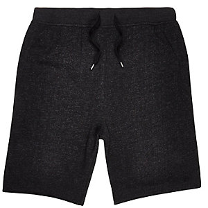 Dark grey comfy cotton shorts