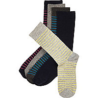Mixed striped socks pack