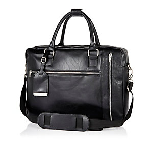 Black smart work bag