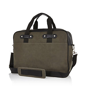 Khaki work bag