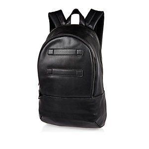 Black Bag Herman Straps Rucksack