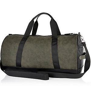 Khaki green smart holdall