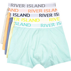 Mixed pastel RI boxer shorts pack