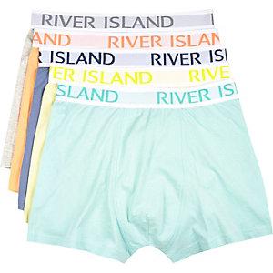 Mixed pastel RI boxer shorts pack