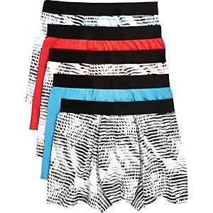 Hawaiian print boxer shorts pack