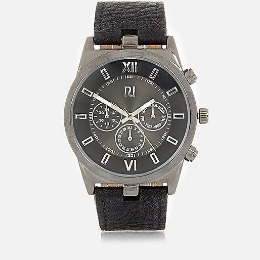 Black statement watch