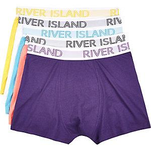 Mixed RI branded boxer shorts pack