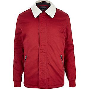 Red borg coach jacket