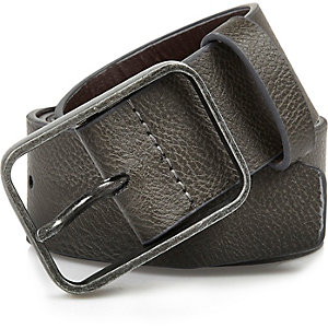 Grey rectangle buckle