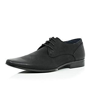 Black smart shoes