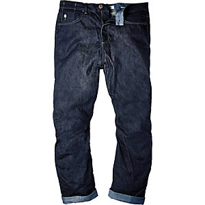 Dark wash guerilla slouchy jeans